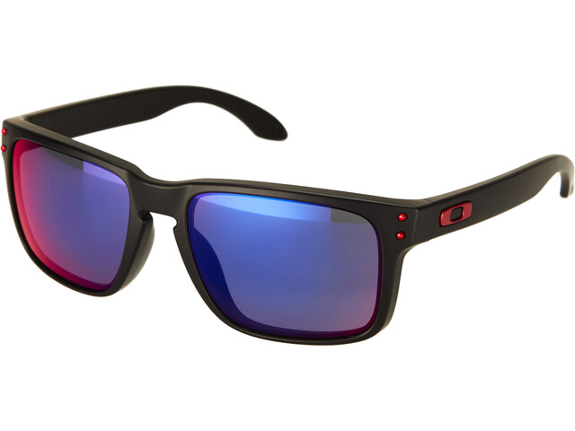 Oakley Holbrook Okulary przeciwsłoneczne, matte black/positive red iridium